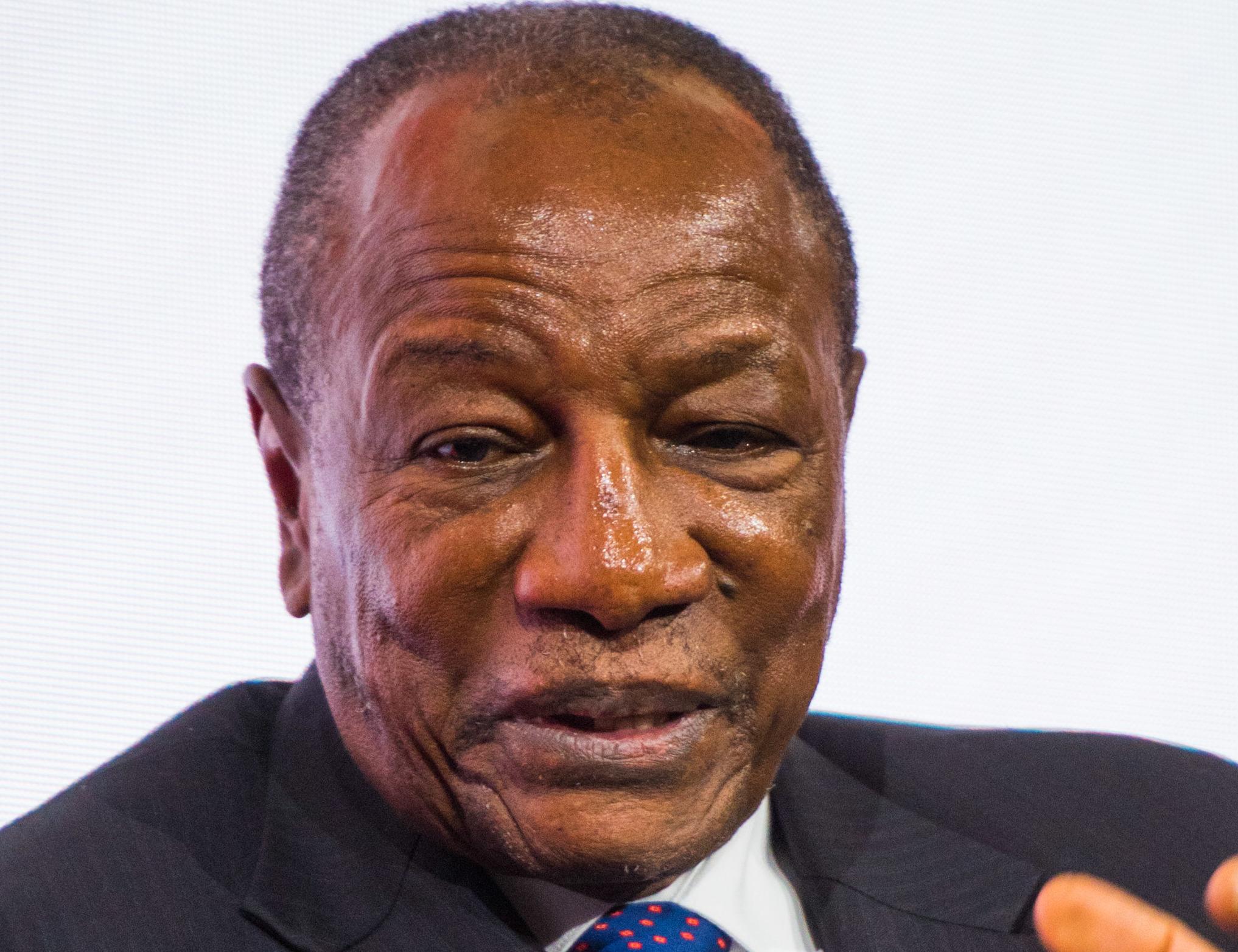 Präsident Alpha Condé